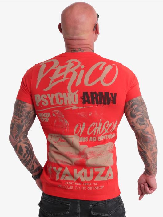 Yakuza T-paidat Perico punainen