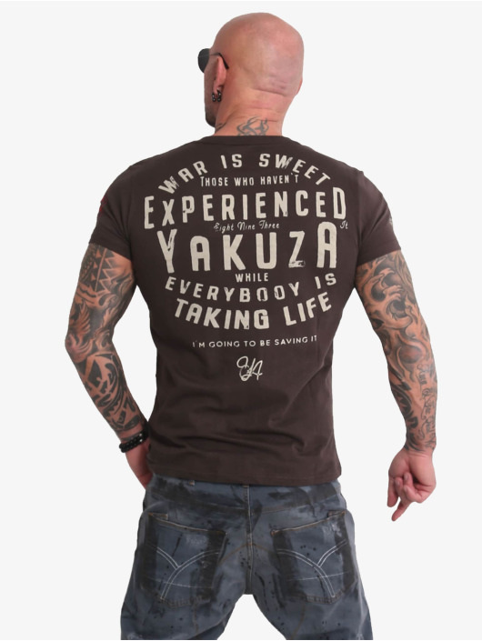 Yakuza T-paidat Sweet War ruskea