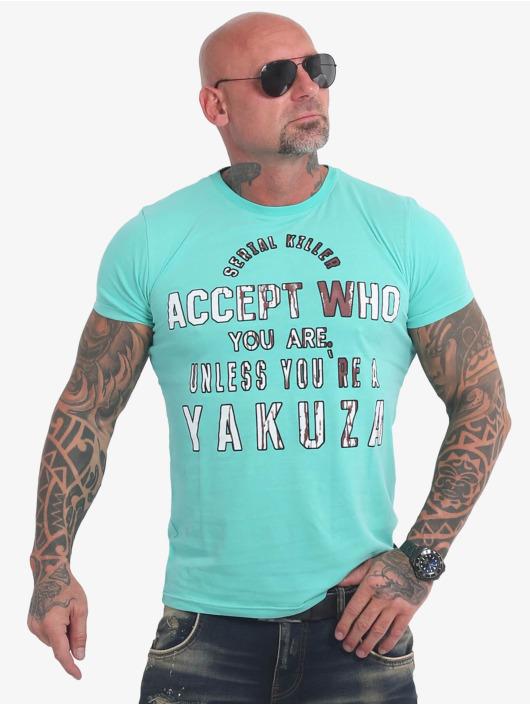 Yakuza T-paidat Swine turkoosi