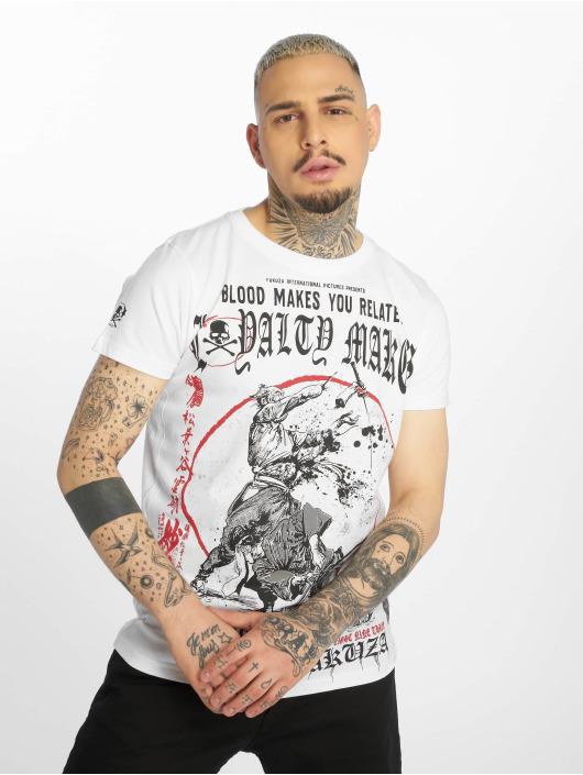 Yakuza T-paidat Loyality valkoinen