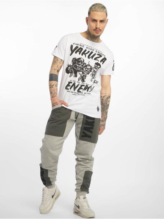Yakuza T-paidat Enemy valkoinen