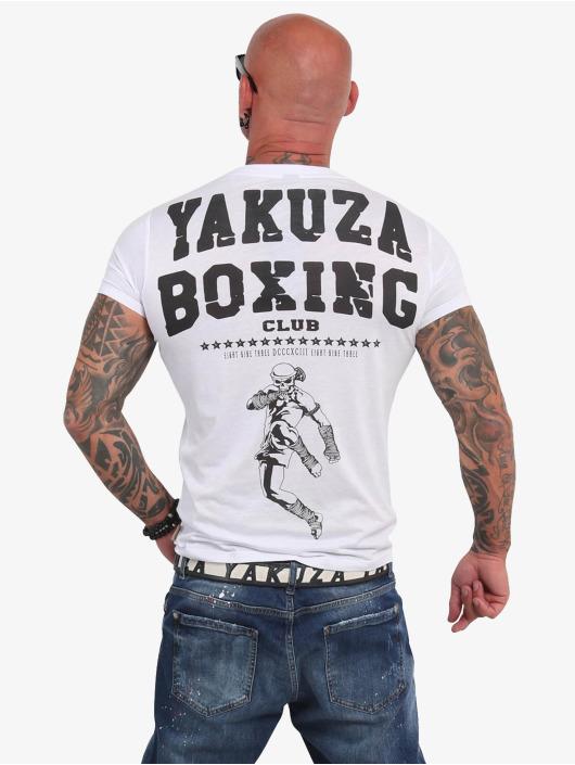 Yakuza T-paidat Boxing Club valkoinen
