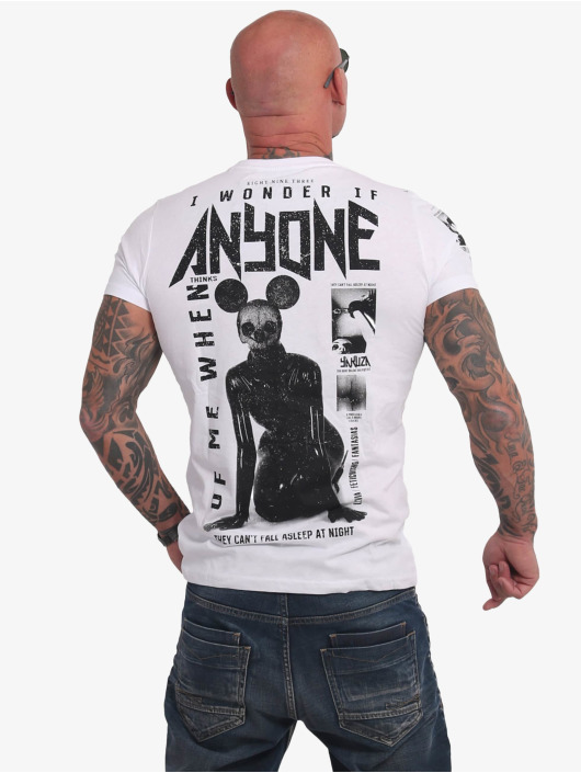 Yakuza T-paidat Anyone valkoinen