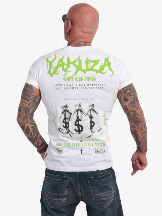 Yakuza T-paidat Buy Happiness valkoinen