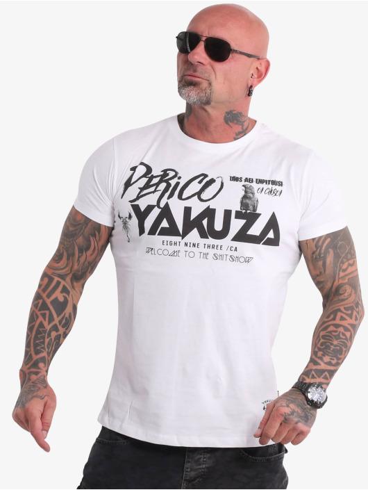 Yakuza T-paidat Perico valkoinen