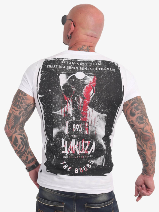 Yakuza T-shirt Boobs bianco