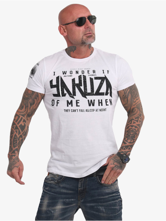 Yakuza T-shirt Anyone bianco