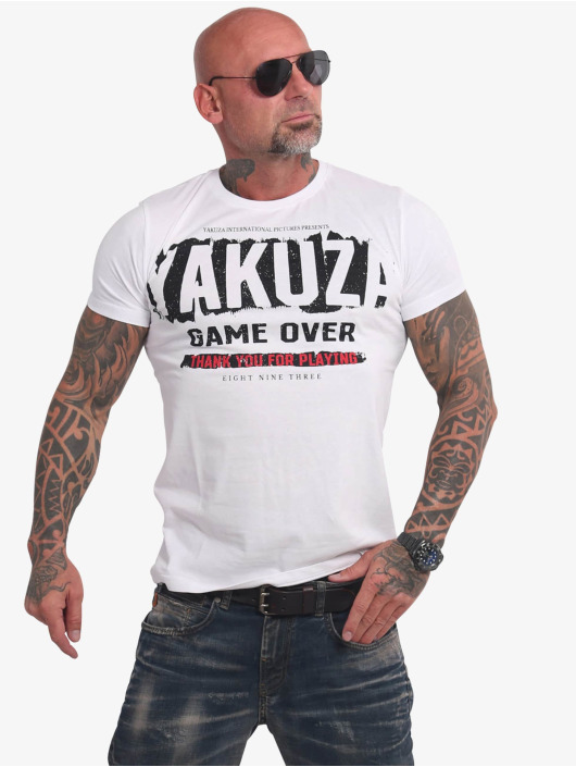 Yakuza T-shirt Hating Clown bianco