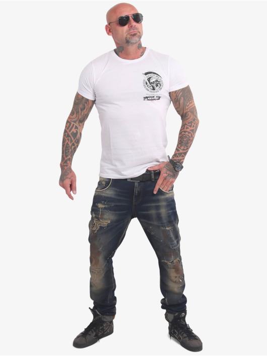 Yakuza T-shirt Neither The Sun bianco