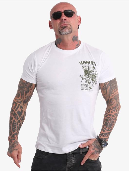 Yakuza T-shirt Beast V02 bianco