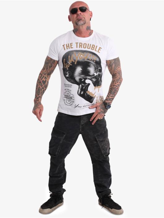 Yakuza T-shirt FckU bianco