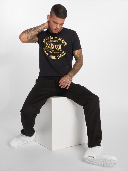 Yakuza T-Shirt Born As A Slave black