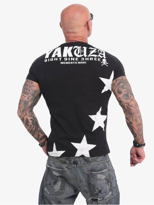 Yakuza T-Shirt Overskulled black