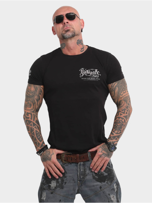Yakuza T-Shirt Never Stop black