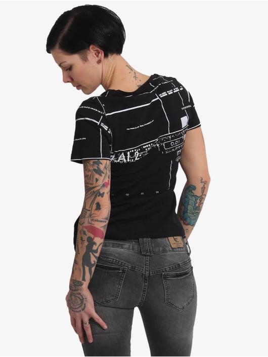 Yakuza T-Shirt Mandala V Neck black