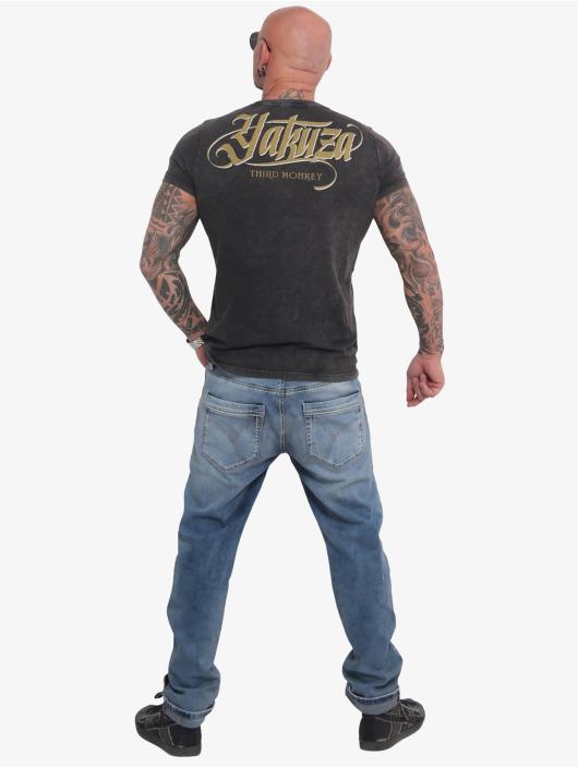 Yakuza T-Shirt Third Monkey black