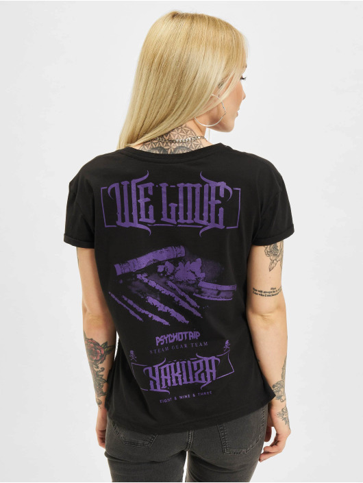 Yakuza T-Shirt We Love Box Fit black