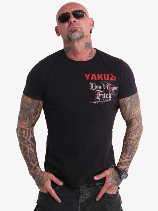 Yakuza T-Shirt Give A Fck black