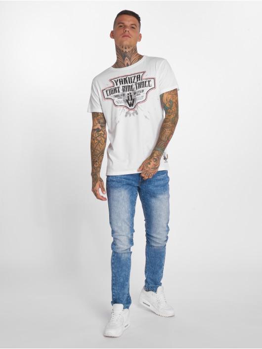 Yakuza T-Shirt Jesus blanc