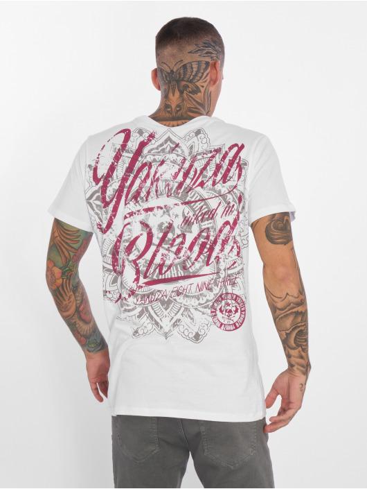 Yakuza Inked Blanc Homme In shirt 297812 Blood T vf6Yg7Iby