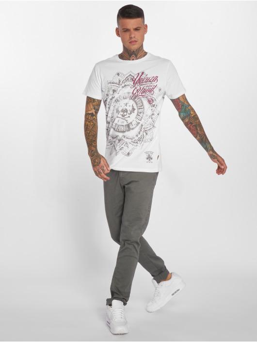 Yakuza T-Shirt Inked in Blood blanc