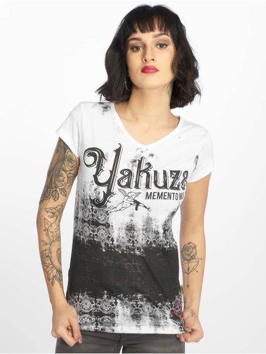 Yakuza T-Shirt Gradient blanc