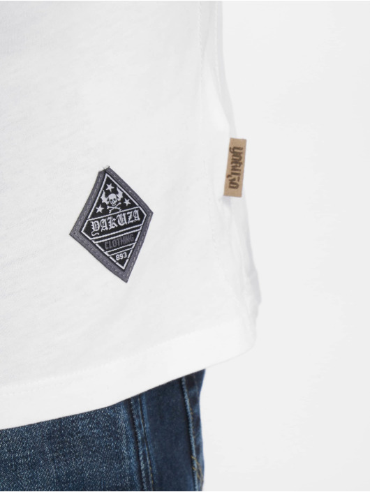Yakuza T-Shirt Marble blanc