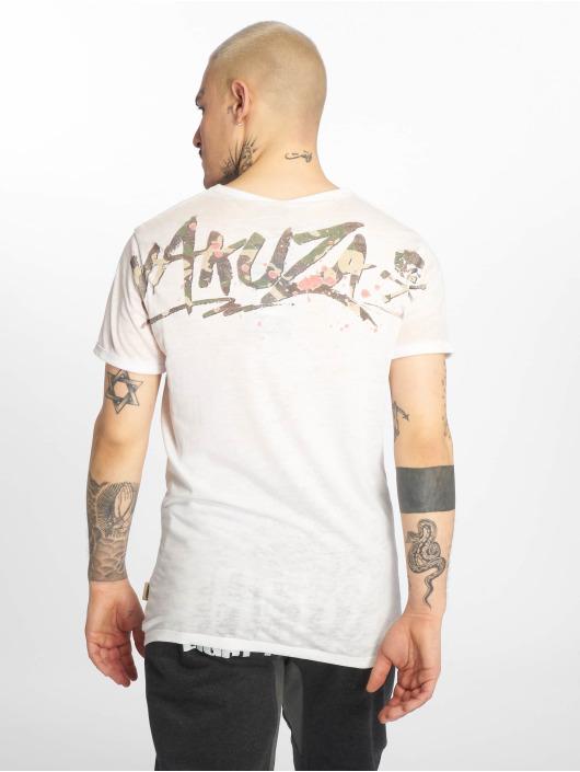 Yakuza T-Shirt Burnout Trophy blanc