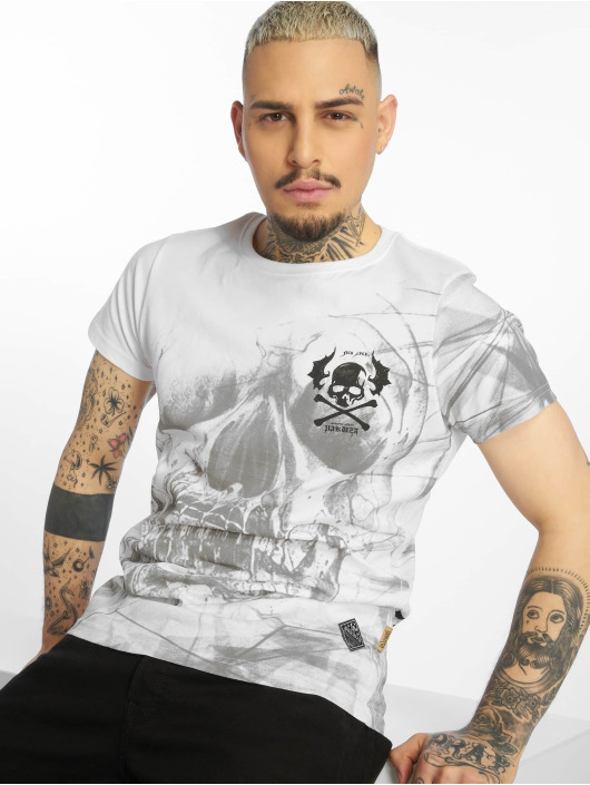 Yakuza T-Shirt Cyber Death blanc