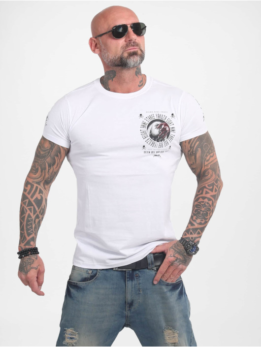 Yakuza T-Shirt Bad Side blanc