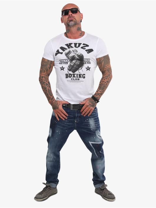 Yakuza T-Shirt Boxing Club blanc