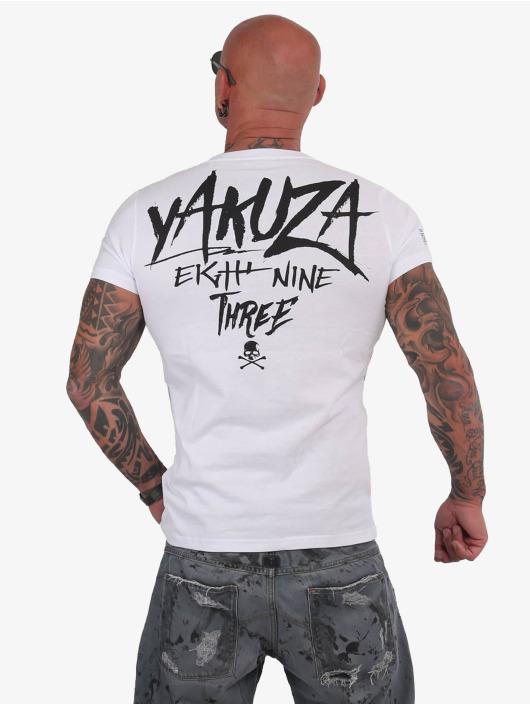 Yakuza T-Shirt Muerte Skull blanc