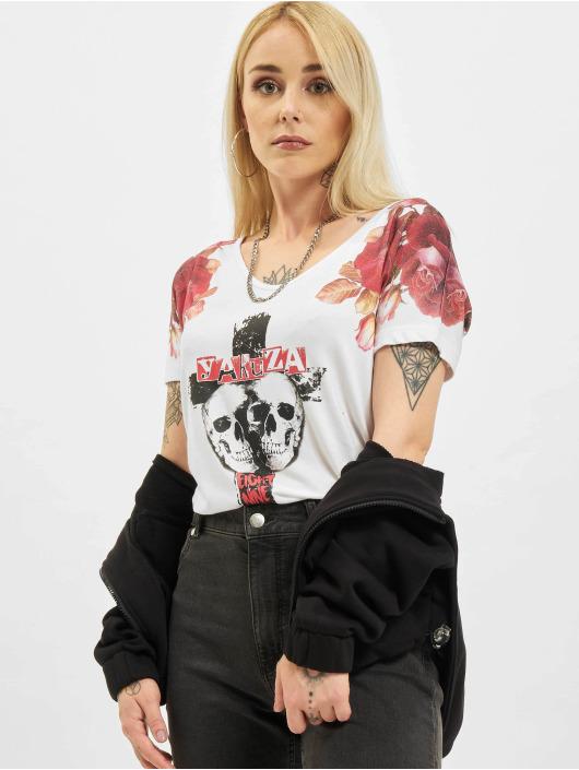 Yakuza T-Shirt Inner Peace V02 Crew blanc