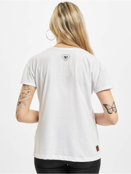 Yakuza T-Shirt No Way Out Box Fit blanc