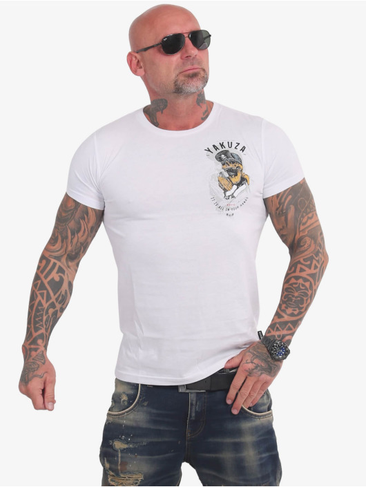 Yakuza T-Shirt Wey blanc