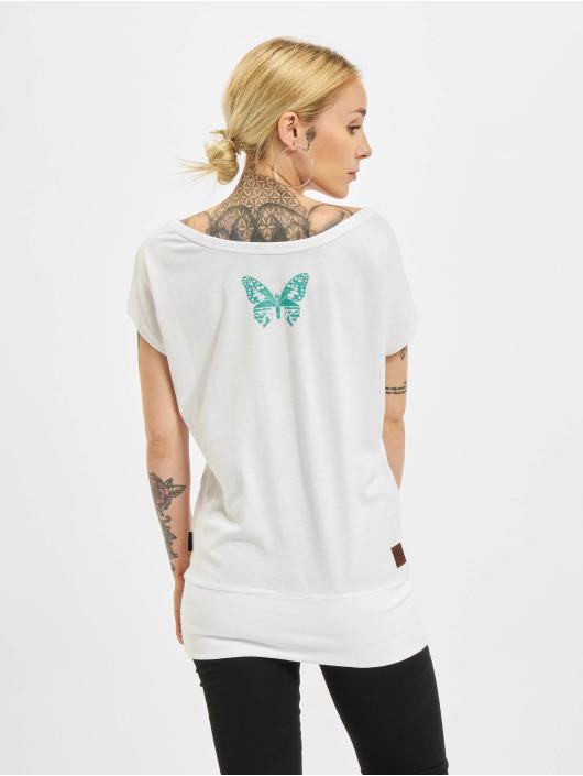 Yakuza T-Shirt Dead Butterfly Wide Crew blanc