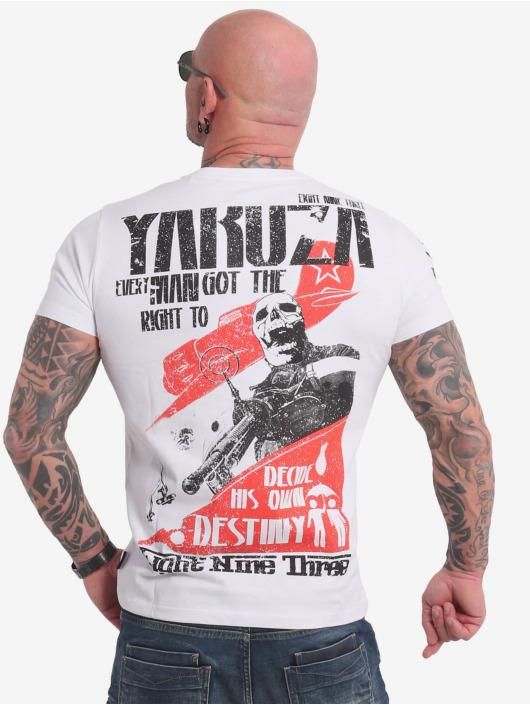 Yakuza T-Shirt Right To Decide blanc