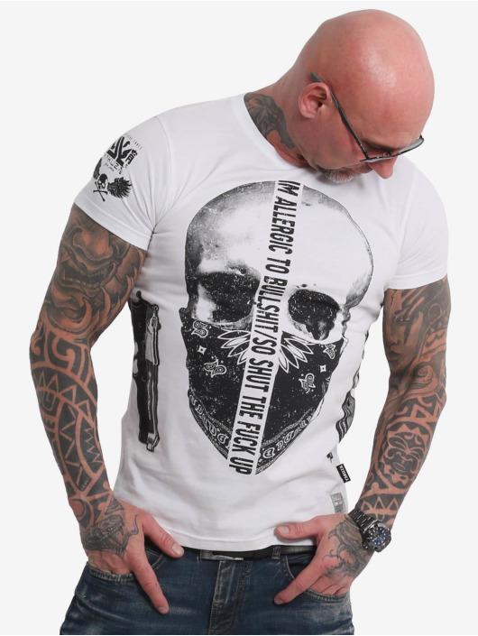 Yakuza T-Shirt Gaucho blanc