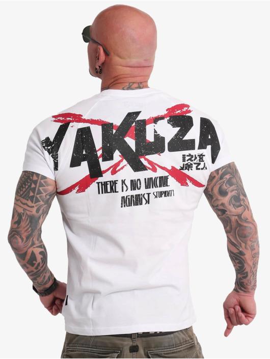 Yakuza T-Shirt Stupidity blanc