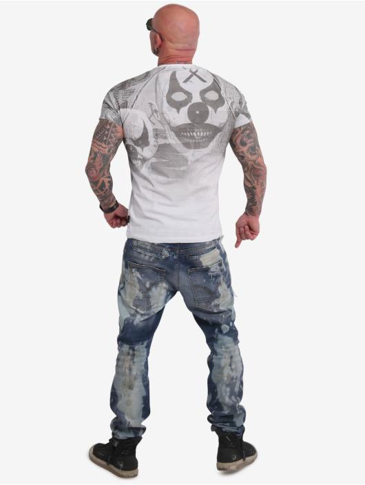 Yakuza T-Shirt Psycho Clown Allover blanc
