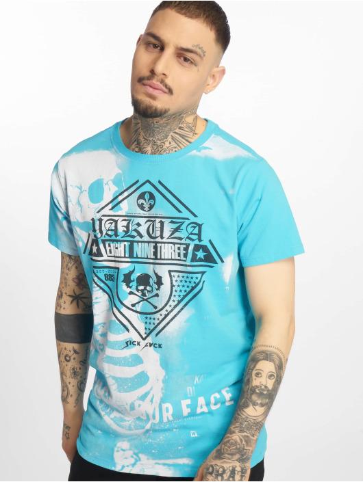 Yakuza T-Shirt Xray blau