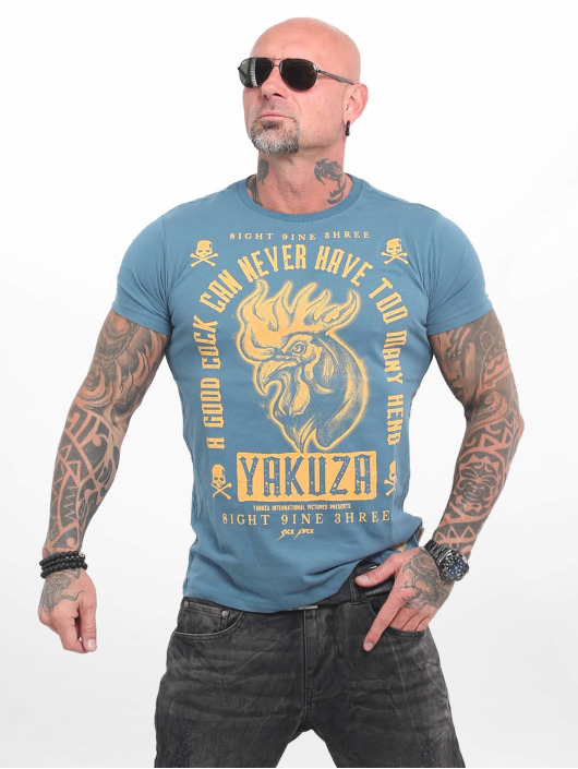 Yakuza T-Shirt Good Cock blau