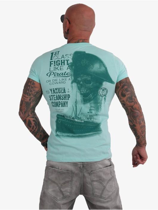Yakuza T-Shirt Pirates Of The 893 blau
