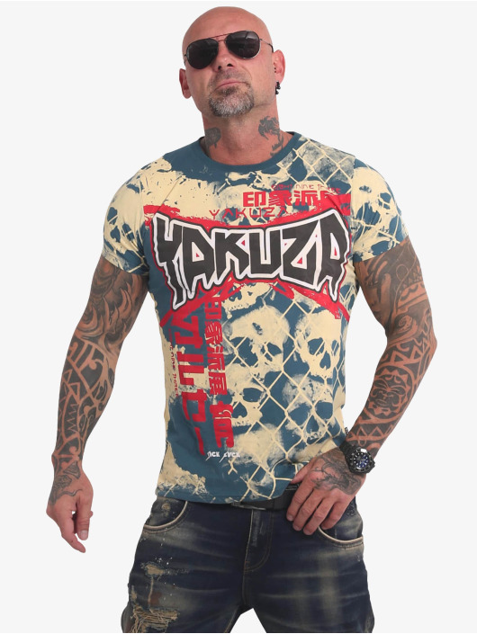 Yakuza T-Shirt Killing Fields blau