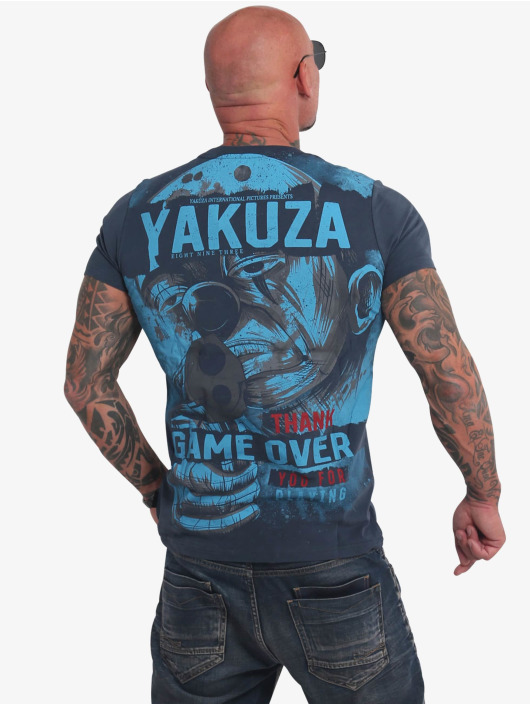 Yakuza T-Shirt Hating Clown blau