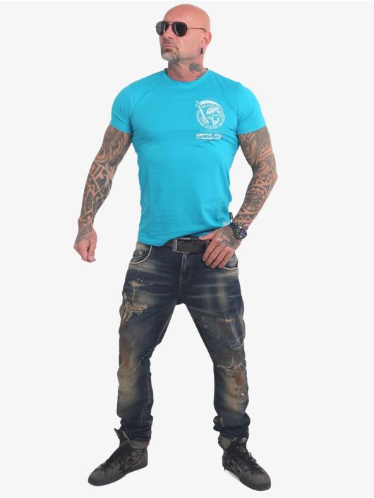 Yakuza T-Shirt Neither The Sun blau
