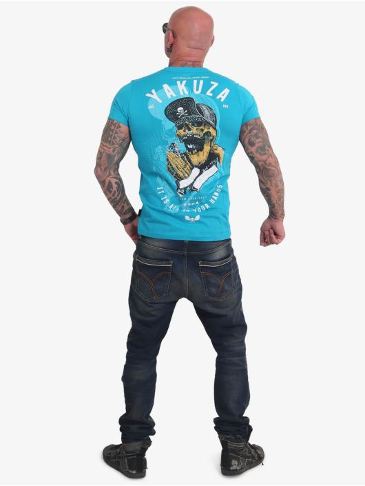 Yakuza T-Shirt Wey blau