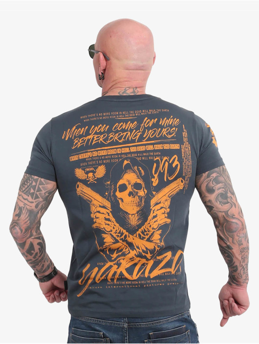 Yakuza T-Shirt Better Bring Yours blau