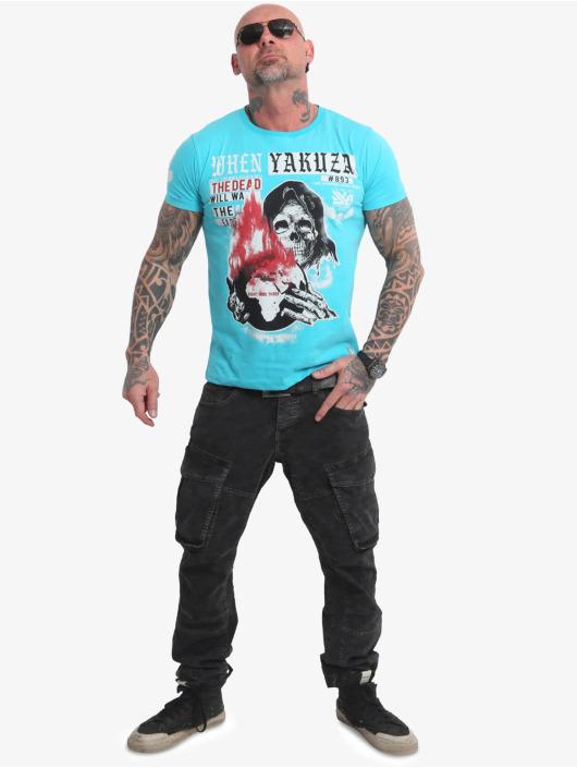 Yakuza T-Shirt Earth blau