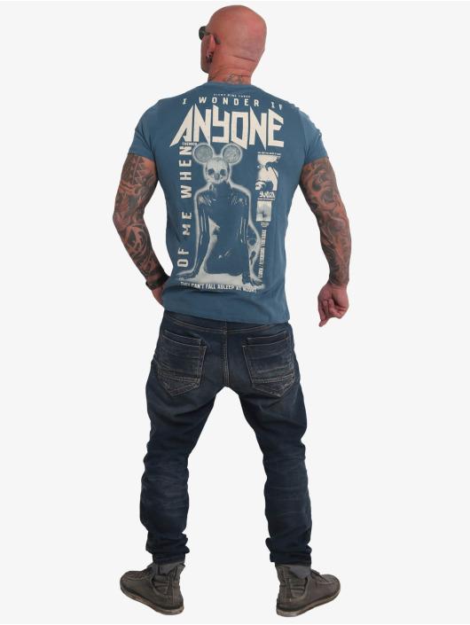 Yakuza t-shirt Anyone blauw